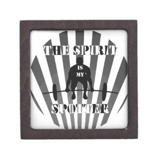 The Spirit is My Spotter Keepsake Box