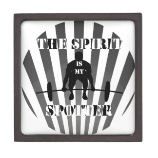 The Spirit is My Spotter Premium Keepsake Box