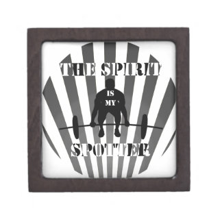 The Spirit is My Spotter Premium Jewelry Box