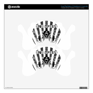 The Spirit is My Spotter PS3 Controller Decal