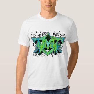 The spirit molecule dmt ayahuasca graffiti t shirt
