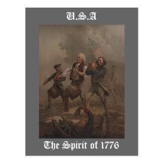 The Spirit of 1776 Postcard