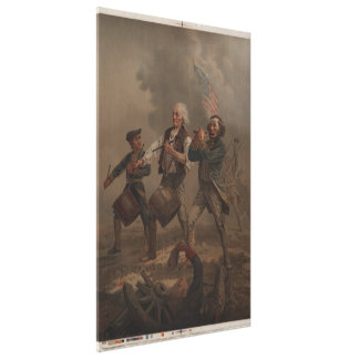 The Spirit of '76 (Yankee Doodle) by A.M. Willard Canvas Print