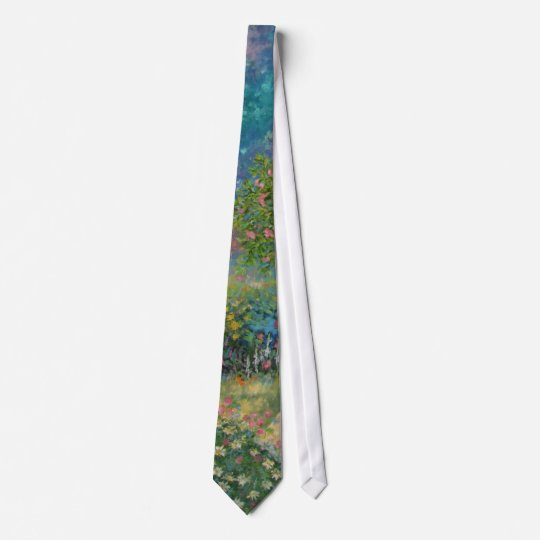 The spirit of a dead person of the daisy flower. tie