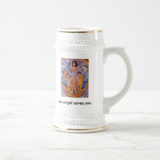 The spirit of a dead person of the pearl shellf... beer stein