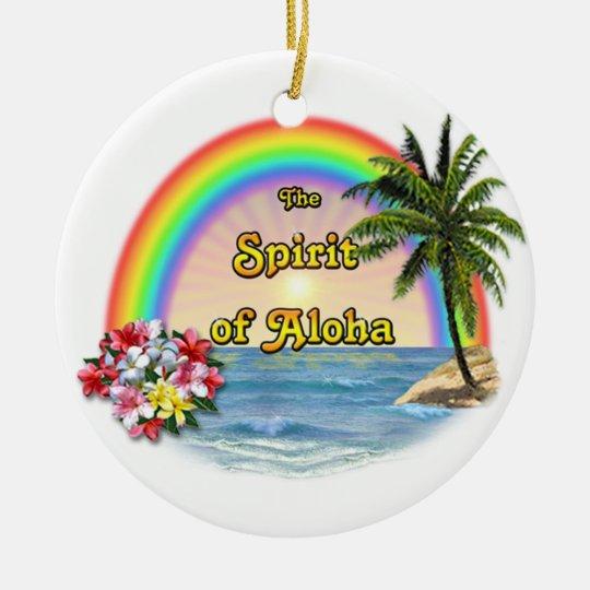 The Spirit of Aloha Ceramic Ornament