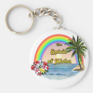 The Spirit of Aloha Keychain