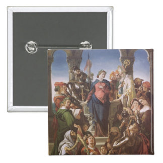 The Spirit of Chivalry, c.1845 Pinback Button