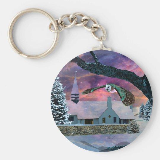 The spirit of Christmas Keychain