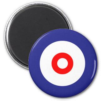 The spirit of Curling Magnet