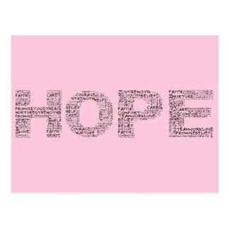The Spirit of Hope (Black Text) Postcard