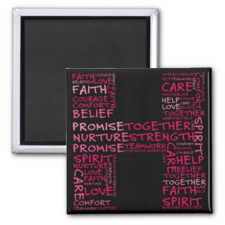 The Spirit of Hope (Letter H - Part of Set) 2 Inch Square Magnet