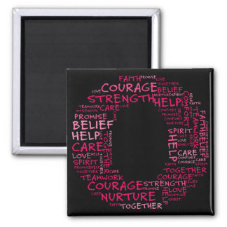 The Spirit of Hope (Letter O - Part of Set) 2 Inch Square Magnet