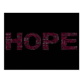 The Spirit of Hope (Pink Text) Postcard