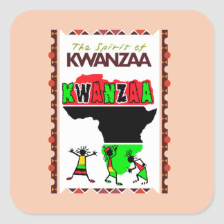 The Spirit Of Kwanzaa Holiday Sticker