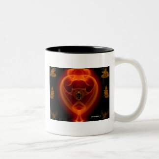 THE SPIRIT OF RA Two-Tone COFFEE MUG