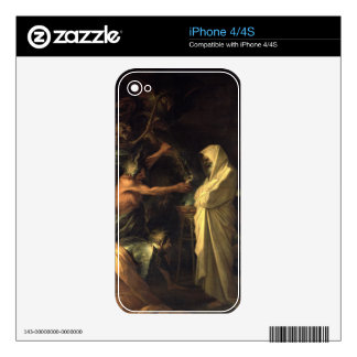 The Spirit of Samuel appearing to Saul at the hous Skin For iPhone 4S