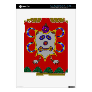 The Spirit of the Cold Winter Sun Decal For iPad 3