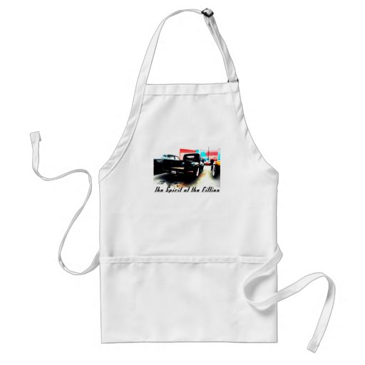 The Spirit of the Fifties Adult Apron