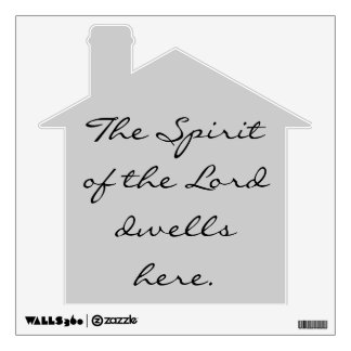 the Spirit of the Lord wall decal