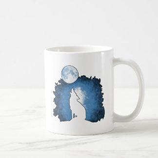 The Spirit of the Wolf Classic White Coffee Mug