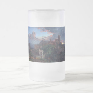 The Spirit of War by Jasper Francis Cropsey Frosted Glass Beer Mug