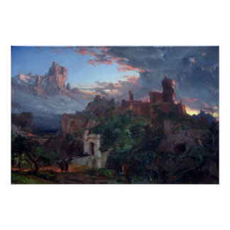 The Spirit of War by Jasper Francis Cropsey Poster