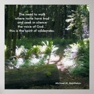 The Spirit of Wilderness Poster
