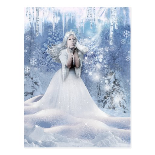 The Spirit of Winter Post Card