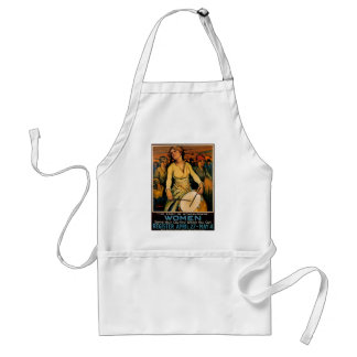 The Spirit of Woman Power Adult Apron