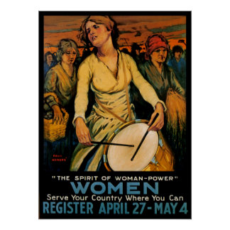 The Spirit of Woman Power Posters