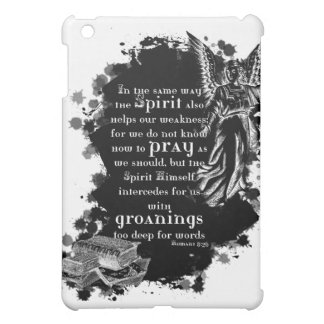 The Spirit Prays for Us iPad Case