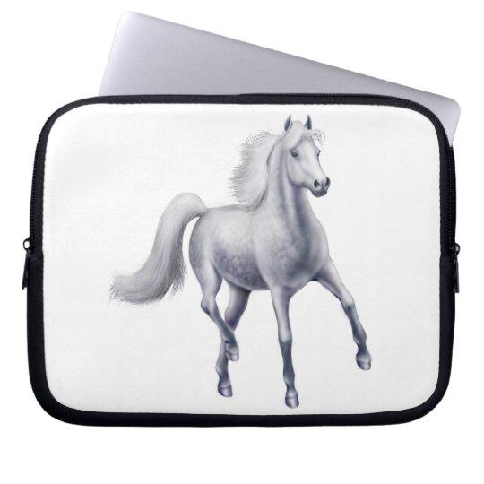 The Spirited Gray Horse Electronics Bag