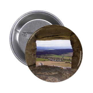 The Spis Castle The Largest Castle In Central Euro Pinback Button