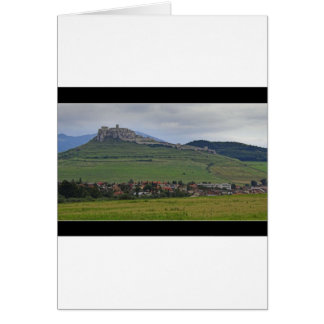 The Spis Castle The Largest Castle Of Central Euro Greeting Cards
