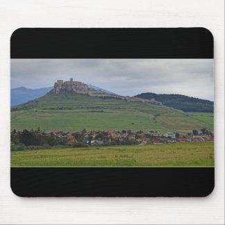 The Spis Castle The Largest Castle Of Central Euro Mouse Mat