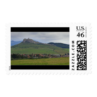 The Spis Castle The Largest Castle Of Central Euro Stamp