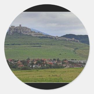 The Spis Castle The Largest Castle Of Central Euro Sticker