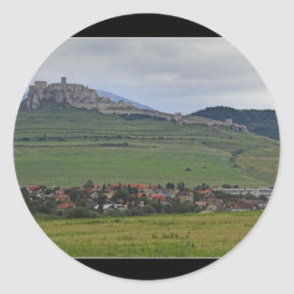 The Spis Castle The Largest Castle Of Central Euro Stickers