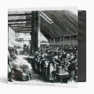 The Spitalfields Soup Kitchen, 1867 3 Ring Binder