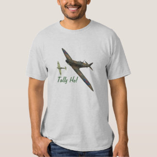 The Spitfire Club - Battle of Britain Tally Ho! T-Shirt