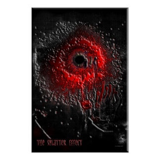 The Splatter Effect Print