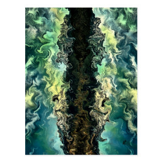 The split by rafi talby postcard
