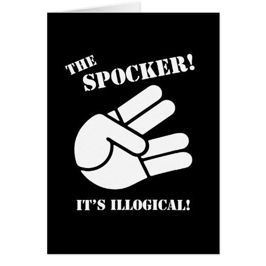 The Spocker! Card