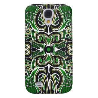 The Spoils Card Back (Green) Galaxy S4 Case