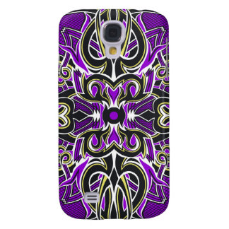 The Spoils Card Back (Purple) Galaxy S4 Case