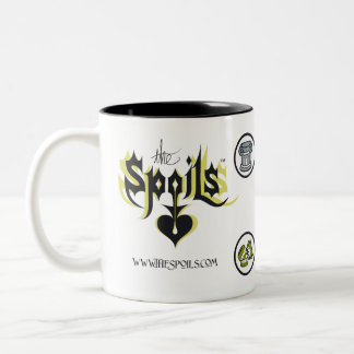 The Spoils Logo Two-Tone Coffee Mug