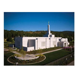 The Spokane Washington LDS Temple Postcard