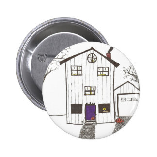 The Spooky House Pin