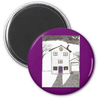 The Spooky House Magnets